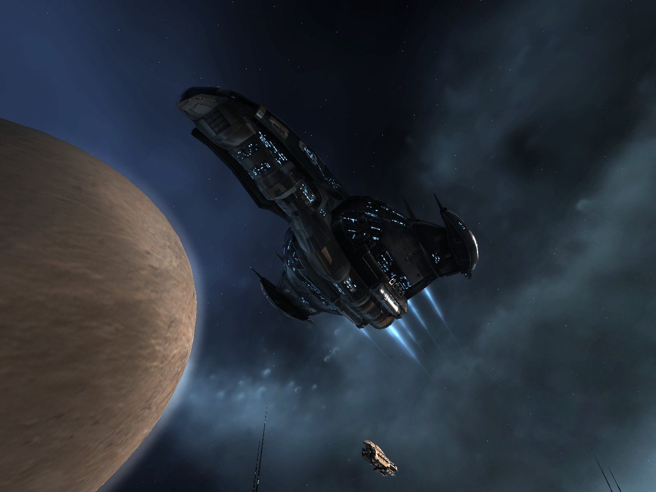 Damnation - Amarr Empire Command Ship screenshot, image